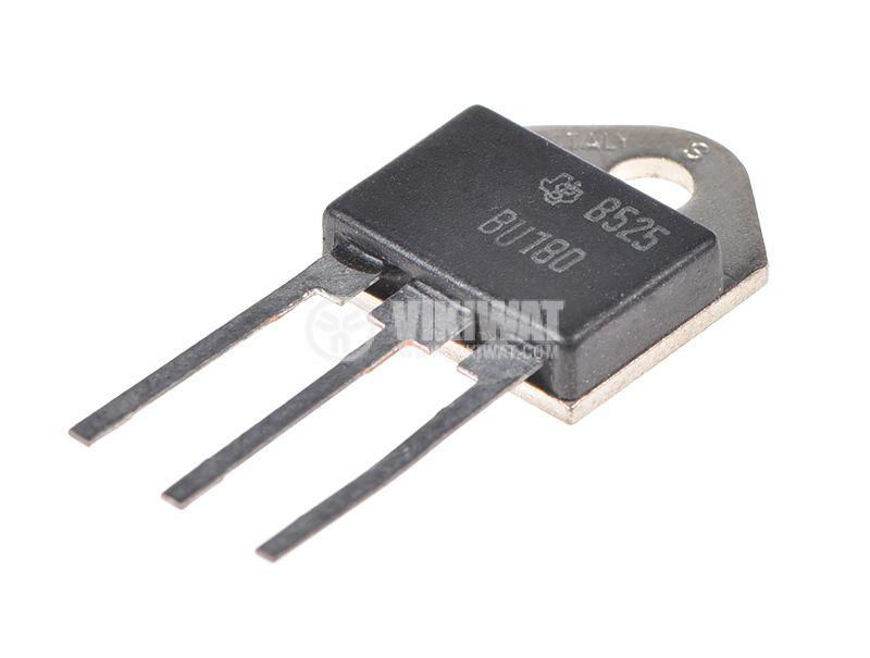 Транзистор BU180, NPN, 320 V, 10 A, 50 W, TO3PN дарлингтон - 1