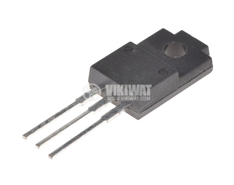 Транзистор BU1706, NPN, 1750 V, 5 A, 32 W, TO220F/SOT186A - 1