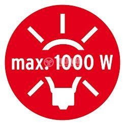 Infrared Motion Detector (PIR), Brennenstuhl,  220VAC, 1000/300/100W, 180°, PIR 180, IP44, white - 6