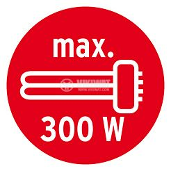 Infrared Motion Detector (PIR), Brennenstuhl,  220VAC, 1000/300/100W, 180°, PIR 180, IP44, white - 7