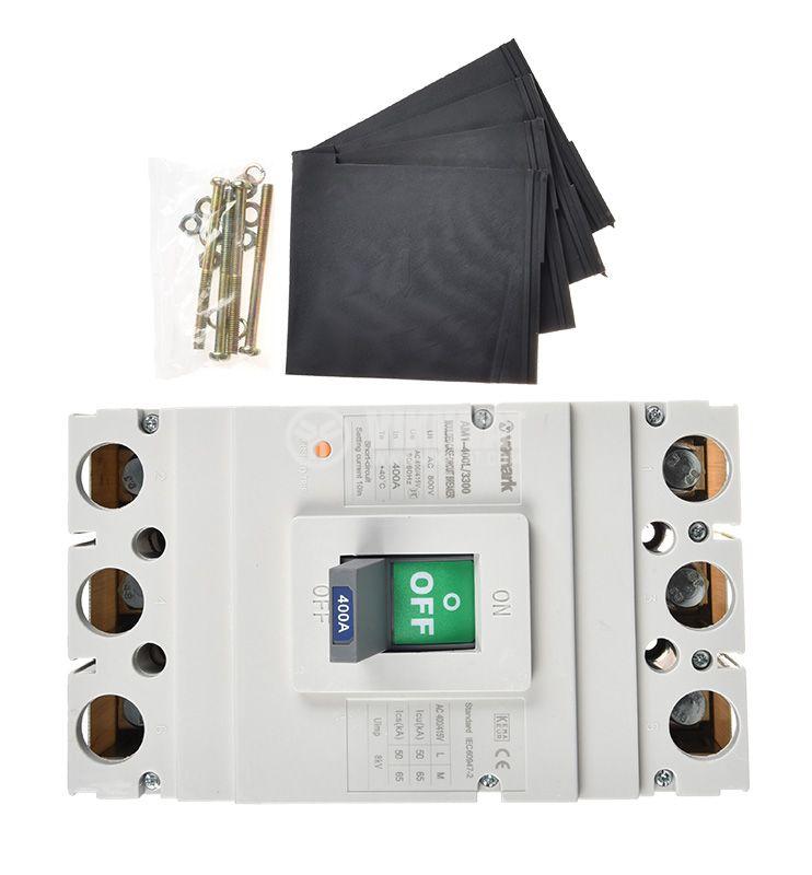Автоматичен прекъсвач, АM1-400L, 3P, 400А, 400 VAC - 2