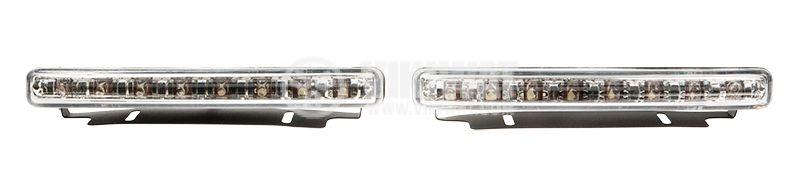 LED дневни светлини, за кола, пластмасов корпус - 5
