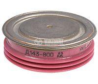 Диод  D143-800-24, 2400 V, 800 A, изправителен, мощен, тип-таблетка - 1