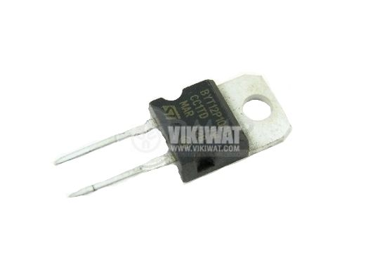 Диод BYT12P-1000, 1000 V, 12 A, TO-220AC, Импулсен
