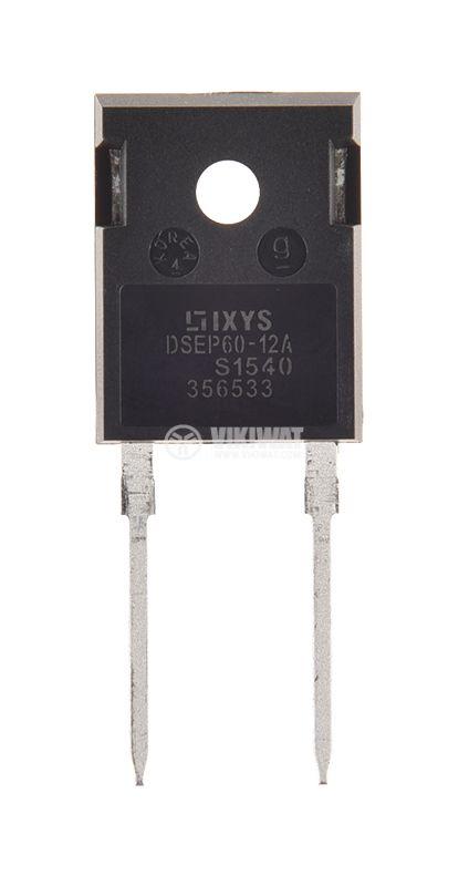 Диод DSEP60-12A 1200 V, 60 A, 230 W, 40 ns - 1