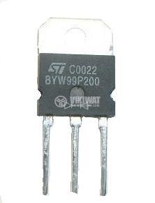 Диод BYW99-200, 200 V, 3 A