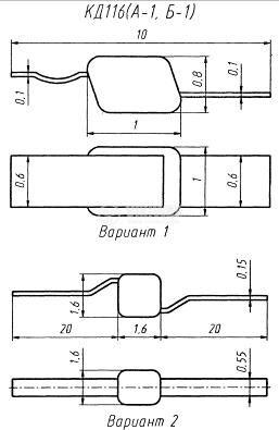 Изправителен диод KD116, 100 V, 100 mA - 2