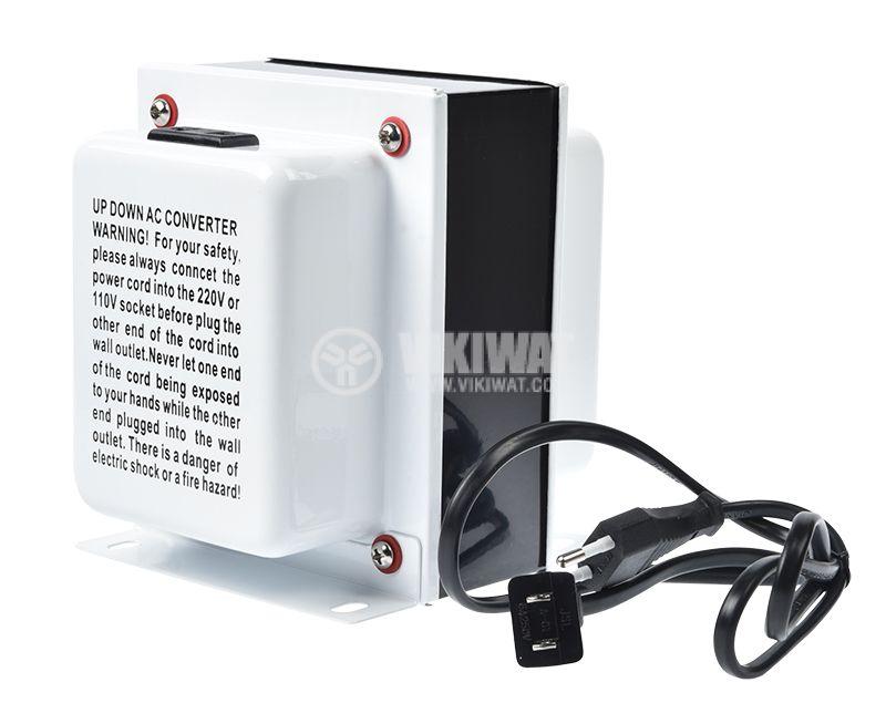 Converter, 1500W, 220VAC-110VAC, TC-1500 - 4