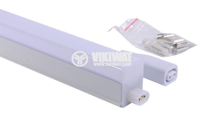 LED лампа за стена 14W, Ledline, 220VAC, 1100lm, 3000K, топлобяла, 1173mm, BN10-01400 - 3