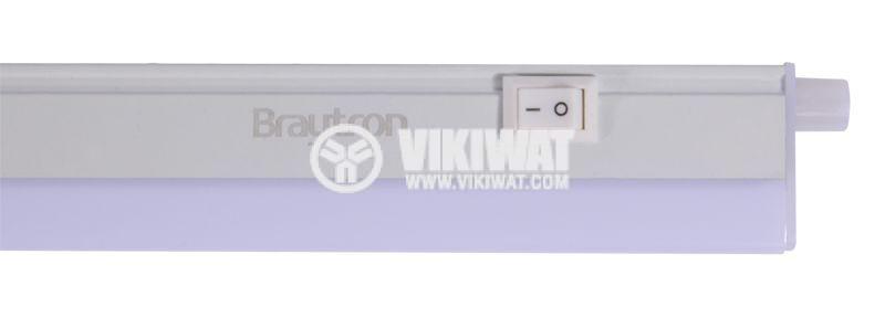 LED лампа за стена 14W, Ledline, 220VAC, 1100lm, 3000K, топлобяла, 1173mm, BN10-01400 - 4