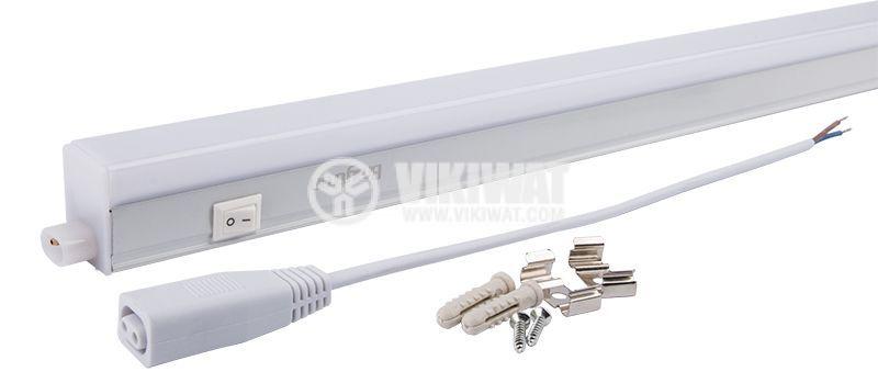 LED лампа за стена 14W, Ledline, 220VAC, 1100lm, 3000K, топлобяла, 1173mm, BN10-01400 - 5