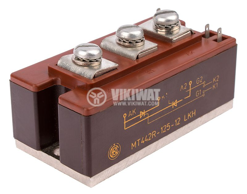 Thyristor module МТ442R-125, 1200V, 125A - 1