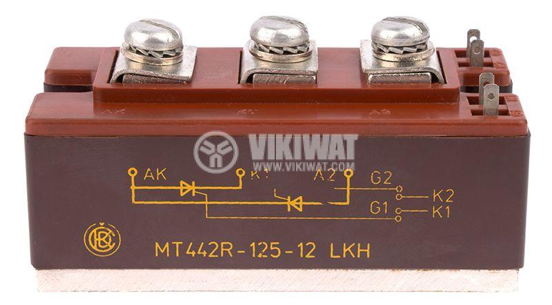 Thyristor module МТ442R-125, 1200V, 125A - 5