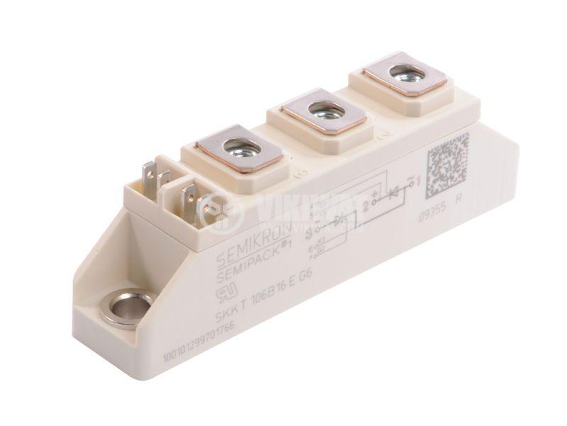 Тиристорен блок SKKT106B16E G6, 1600V, 106A - 1