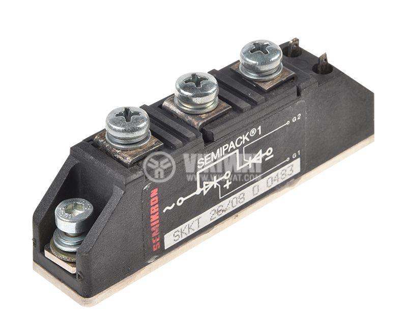 Тиристорен блок SKKT26/06, 600 V, 26 A - 1