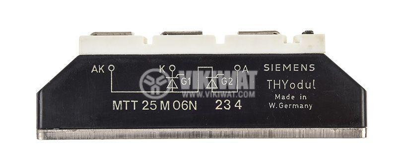Thyristor MTT25/06N, 600 V, 25 A   - 3