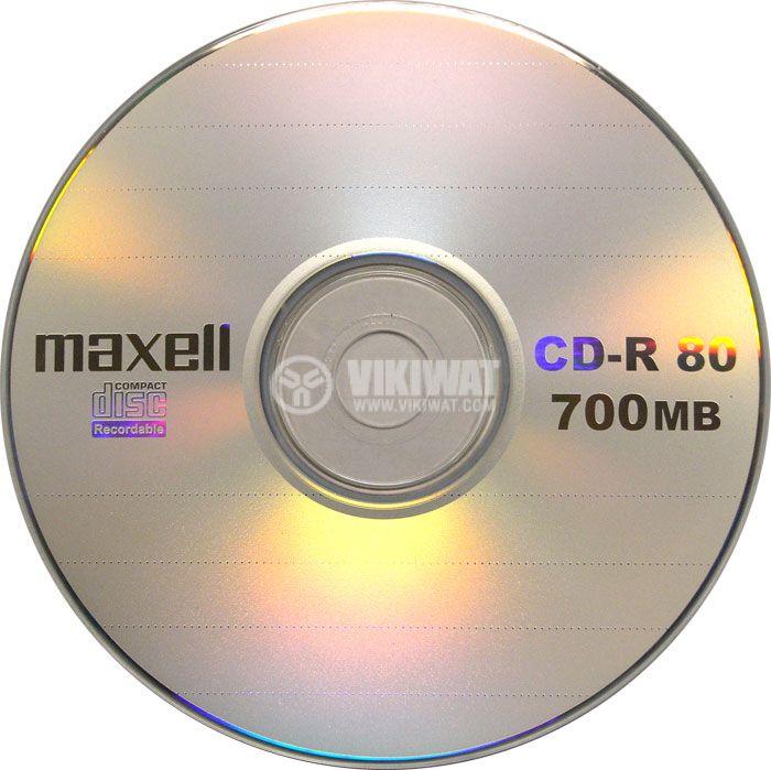 MAXELL CD-R, 700MB / 80min, 52x,  - 1