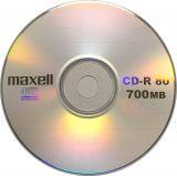 MAXELL CD-R, 700MB / 80min, 52x,