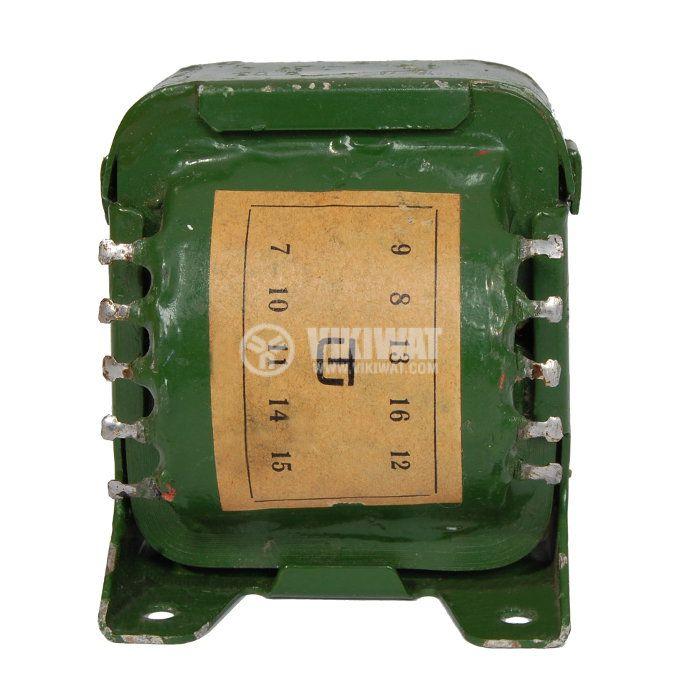 ПЛ трансформатор 46 VA, 220 / 2 х 7 + 2 х 5.5 + 1.5 VAC - 2