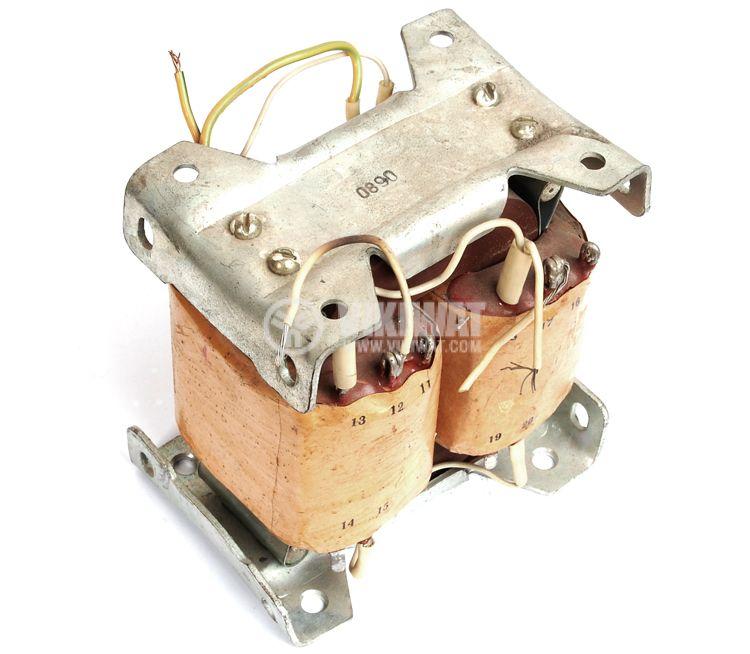 Transformer 300 VA, 220/2 x 7.7 + 2 x 3.2 + 2 x 35 VAC - 1