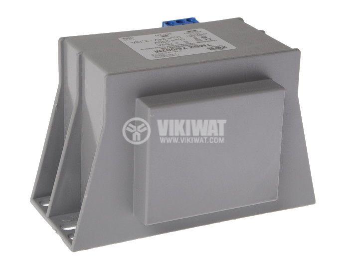 Transformer 230 / 24VAC, 75VA, encapsulated - 1