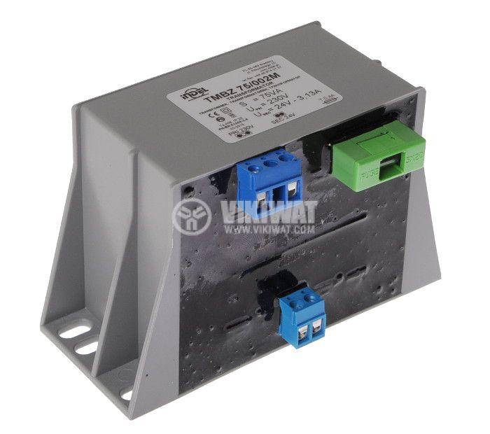 Transformer 230 / 24VAC, 75VA, encapsulated - 2