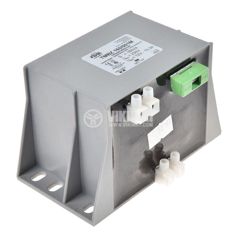 Трансформатор TMBZ 160/001M, 230/12VAC, 160VA, капсулован   - 1