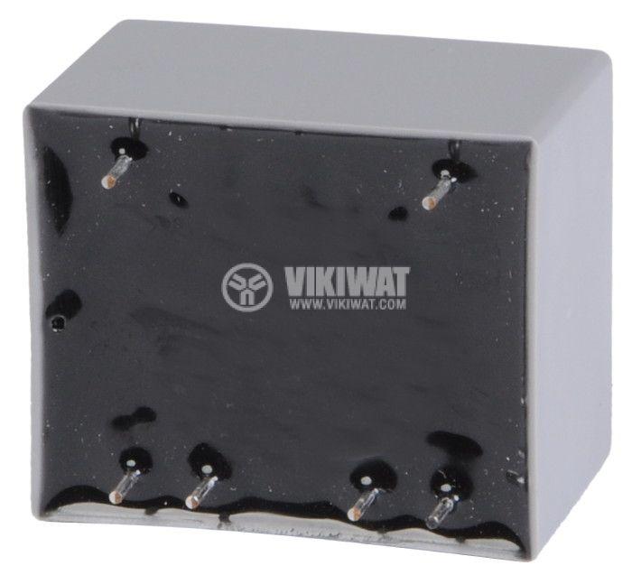 PCB Transformer 12+12 VAC, 2x1 VA - 2