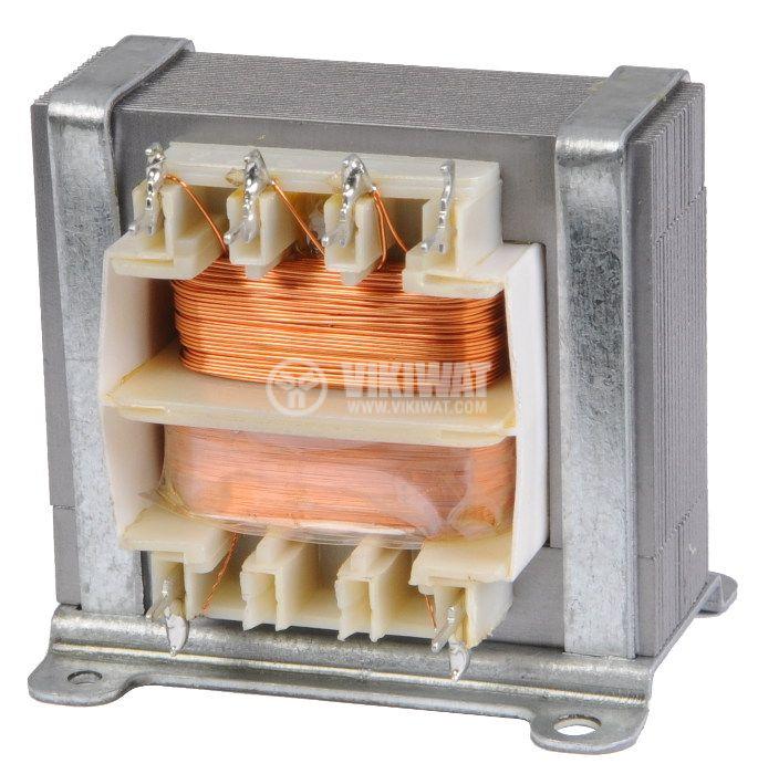 Трансформатор 230 VAC, 8.5+8.5 VAC, 2x0.28 A - 2