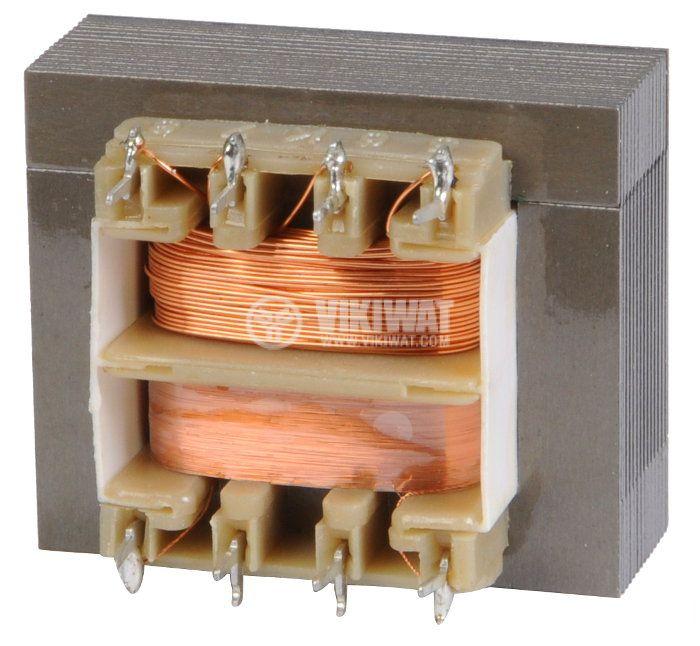 Трансформатор 230 VAC, 6+6 VAC, 2x0.4 A - 2