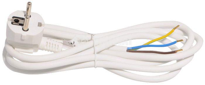 Power cord 3х1mm2, 3m white