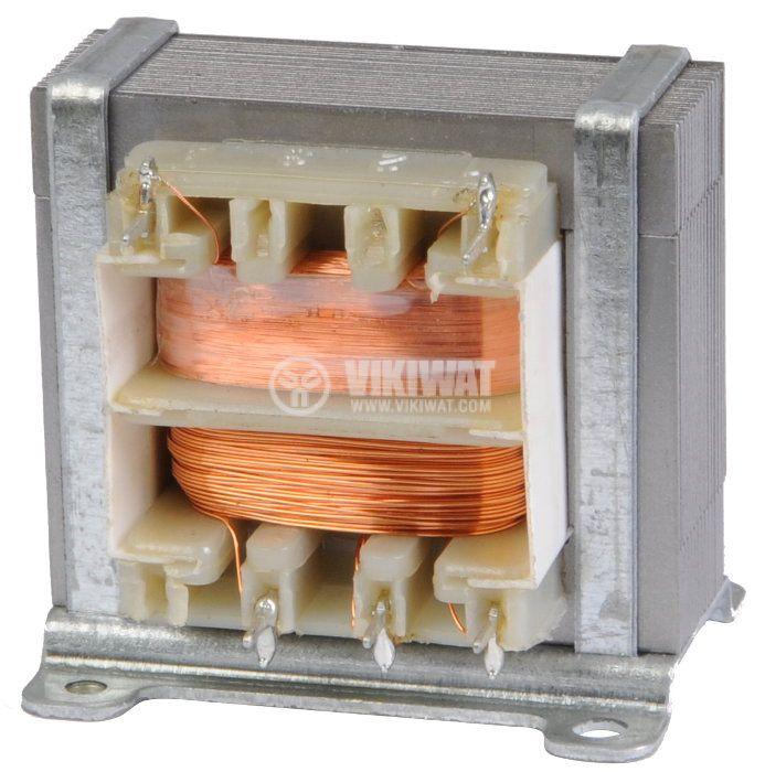 Трансформатор 230/9+9 VAC, 2x0.22 A - 2