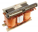 Shell Type Transformer, 3- phase, 1000 VA, 380/17 + 27.5 + 7 + 10 + 10 VAC