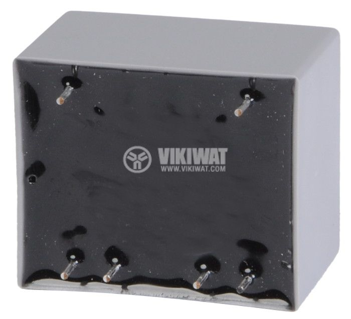 PCB Transformer 9+9 VAC, 2x1 VA - 2