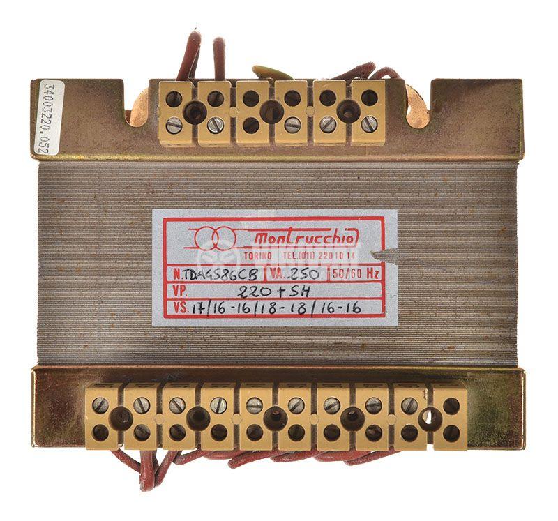 Shell Type Transformer 250VA, 220/2x(2x16+18)+17VAС - 3