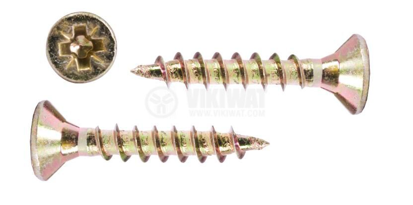 Self-tapping screw, wood, 3.5x35mm