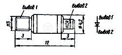 Диод Д403Б СВЧ, свръхвисокочестотен - 3
