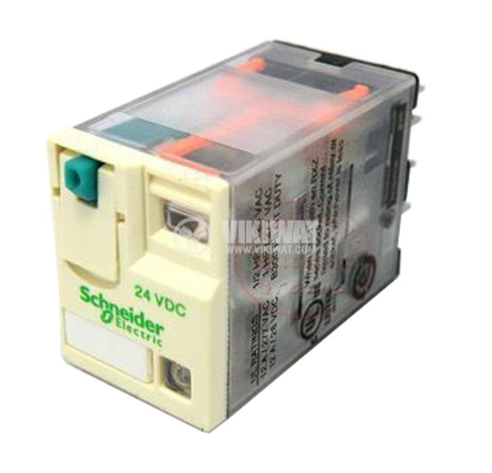 Electromagnetic Relay, RXM3AB2BD, coil 24VDC, 3PDT-3NO+3NC, 10A, 250VAC