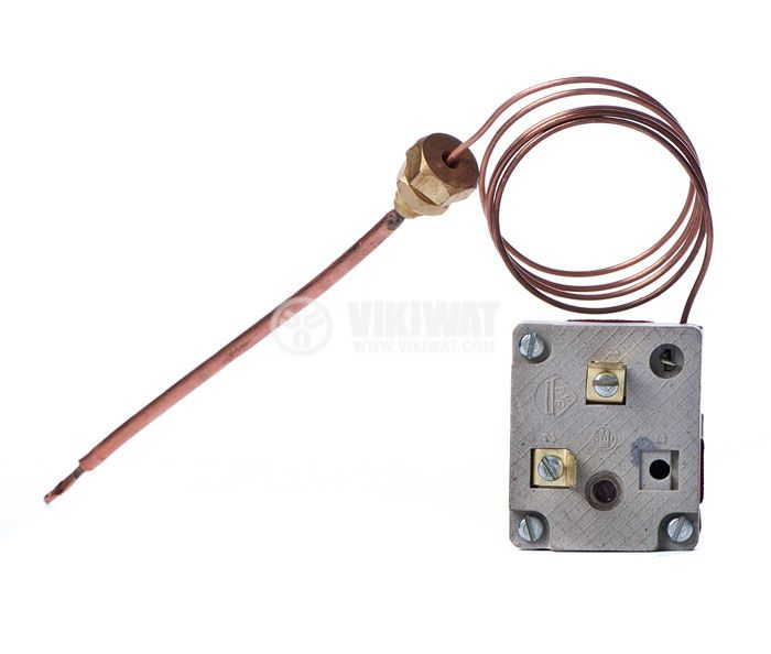 Capillary thermostat, M111.92, +30 °C to +190 °C, NC, 16 A / 250 VAC - 2