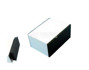 Кутия алуминиева KU5L60 за вграждане на електроника 60x40x20mm, бяла