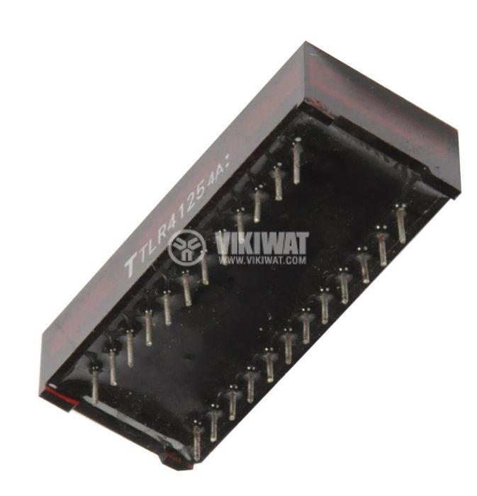 LED дисплей четворен червен  TLR4125 - 3