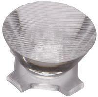 LED lens, round, transparent, adhesive tape, CA11266, LEDIL