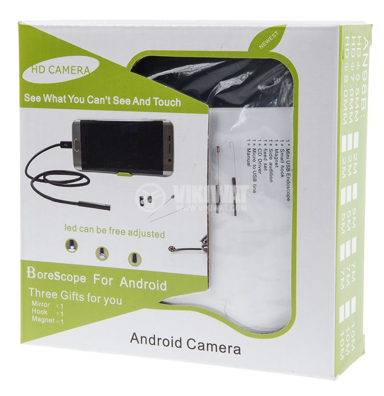 Endoscope camera for phone, laptop and computer - 2
