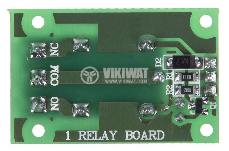 Relay board 12V 7A 40x25 ON-OFF NO-NC - 2
