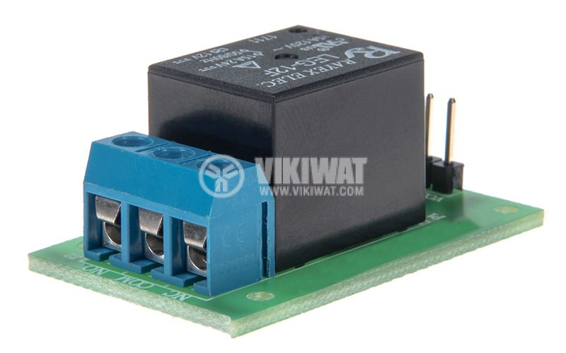 Relay board 12V 7A 40x25 ON-OFF NO-NC - 3