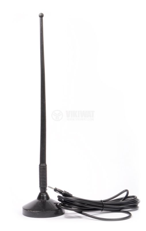 Автомобилна антена с магнит, FM/AM, 440mm - 1