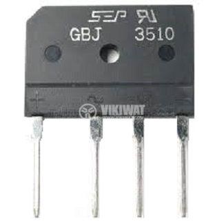 Грец схема 35A/1000V, GBJ3510