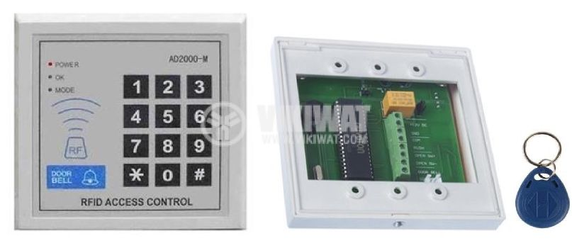 RFID access control with digital keypad AD2000-M