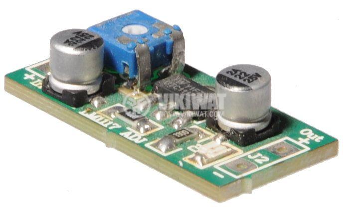 Регулатор на напрежение, LM1117-ADJ, 5VDC - 1.25/3.75VDC - 2