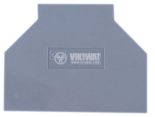 Капачка за редова клема 25 mm2, разделителна - 1